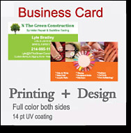 business cards promo